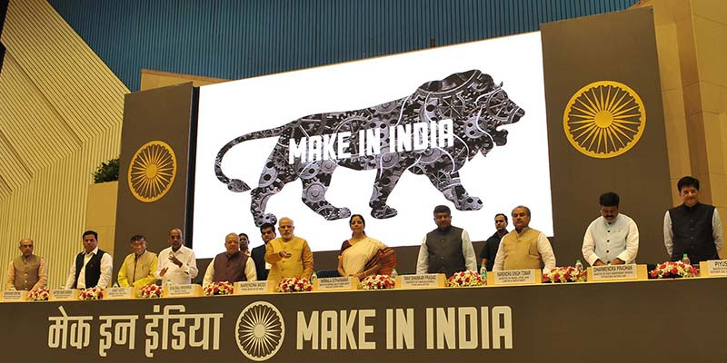 'Make in India' Boosts the Exports in Indian Textile Industry