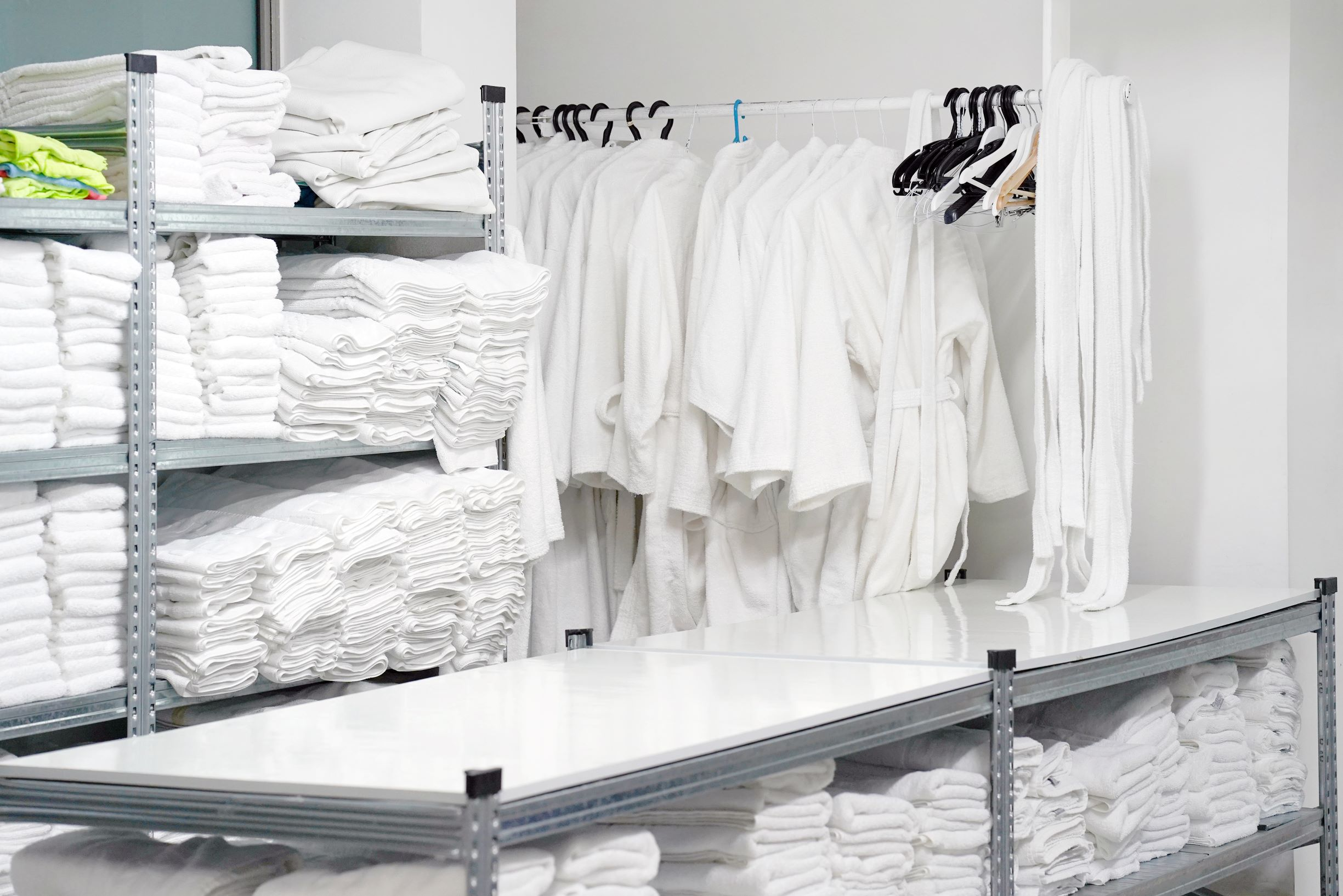 Dry-clean and laundry services companies